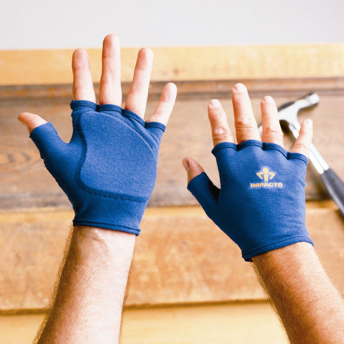 Fingerless impact gloves - Mechanic Gloves