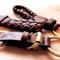 Leather key chains (9)
