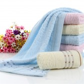 -New-Hot-Cotton-Sports-Towel-Branded-Jacquard-Towels-Segment-Cobblestone-Side-Dot-Towel-1pcs-lot