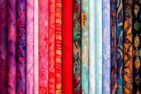 dyed fabrics